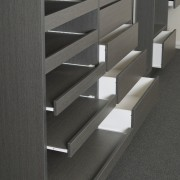 Available in a wide range of colours and angle, chest of drawers, floor, furniture, product design, shelf, shelving, black, gray