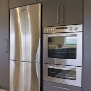Westinghouse appliances are designed to provide maximum help cabinetry, home appliance, kitchen, kitchen appliance, major appliance, refrigerator, room, gray