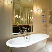 A view of this bathroom designed by Marshall bathroom, bathroom accessory, home, interior design, plumbing fixture, room, sink, tap, brown