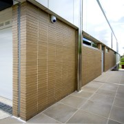The bricks are Smoke Splits, part of CSR's architecture, building, daylighting, facade, house, real estate, siding, wall, white, brown