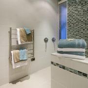Ceramic tiles for the walls and porcelain tiles bathroom, ceiling, daylighting, floor, flooring, home, interior design, room, tile, wall, gray