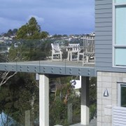 A view of some glazing done by New condominium, property, real estate, residential area, gray