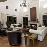 Oak praquet is a low-maintenance flooring, well suited ceiling, estate, floor, flooring, furniture, hardwood, home, interior design, living room, property, real estate, room, white, brown