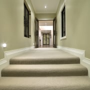 A view of some carpet from Cavalier Bremworth. architecture, ceiling, daylighting, estate, floor, flooring, home, interior design, property, real estate, window, orange