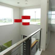 Summit Aluminium supplied custom window solutions for all architecture, interior design, real estate, window, gray, white