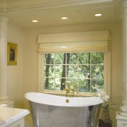 A view of this bathroom designed by Clive bathroom, ceiling, estate, home, interior design, real estate, room, window, brown