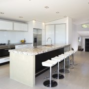 A view of the kitchen area, tiled floors, countertop, cuisine classique, interior design, kitchen, real estate, room, white