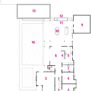 A view of a plan of the home area, design, diagram, drawing, floor plan, line, product design, text, white