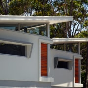 Ticks in all the boxes - the lightweight, architecture, facade, home, house, roof, gray, black