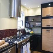 View of Kitchen designed by Celia Visser Design, cabinetry, countertop, cuisine classique, interior design, kitchen, real estate, room, gray