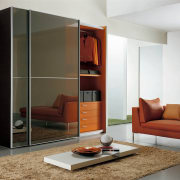 View of wardrobe system by Prestige Designs - furniture, interior design, living room, product design, wardrobe, white
