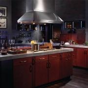 Best range hoods, including Model IP29 shown, are cabinetry, countertop, cuisine classique, interior design, kitchen, black, red
