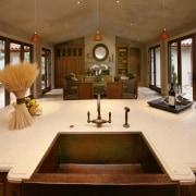 Limestone countertop - Limestone countertop - countertop | countertop, estate, home, interior design, kitchen, living room, real estate, room, brown