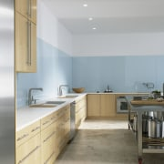 Changing trends in kitchen design have seen a cabinetry, countertop, cuisine classique, interior design, kitchen, real estate, room, gray