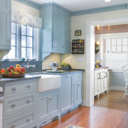 View of kitchen designs recommended by NKBA to cabinetry, countertop, cuisine classique, home, home appliance, interior design, kitchen, real estate, room, window, gray