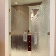 Interior Glass door - Interior Glass door - bathroom, door, glass, interior design, plumbing fixture, wall, orange, brown
