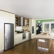This kitchen is the model of user friendliness interior design, kitchen, real estate, room, white