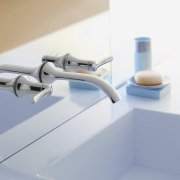 Image of high-end bathroom products available at The plumbing fixture, product, product design, tap, gray, white