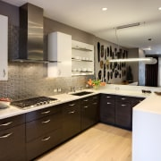 Dom Tech Australia imports the Candy 3 in cabinetry, countertop, cuisine classique, interior design, kitchen, room, gray, brown