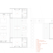 View of floor plans. - View of floor angle, architecture, area, building, design, diagram, elevation, floor plan, home, house, line, plan, product, product design, property, schematic, structure, white