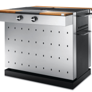 Image of outdoor cooking equipment available from Electrolux. furniture, product, product design, gray, white