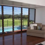 View of lounge area of a villa which condominium, door, interior design, property, real estate, window, gray