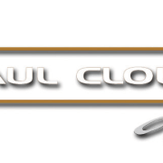 Image of the Paul Clout Design logo. - brand, design, font, graphics, logo, product, product design, text, white