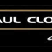 Image of the Paul Clout Design logo. - brand, font, graphics, logo, signage, text, black
