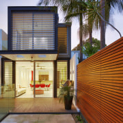 Exterior view of the rear side of the architecture, building, facade, home, house, interior design, property, real estate, residential area, window, brown