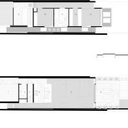 View of floor plans for renovation. - View architecture, area, design, diagram, elevation, floor plan, font, house, line, plan, product, product design, property, schematic, structure, text, white