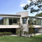 Exterior view of home with stainless steel roof, architecture, building, cottage, estate, facade, home, house, property, real estate, residential area