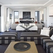 View of the large living area which is interior design, living room, property, real estate, room, suite, white