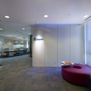 View of the entrance area which features a architecture, ceiling, floor, glass, interior design, lobby, real estate, gray