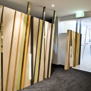 View of the entrance to the all-white ante-room floor, flooring, interior design, room, wall, wood