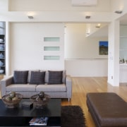 interior view of a new home in albany.PTG floor, interior design, living room, loft, property, real estate, room, gray