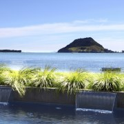 View of Pool resource pools - View of bay, coastal and oceanic landforms, real estate, sea, sky, tropics, water, teal