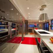 Kitchen Connection Gold Coast created a high-impact, low-maintenance ceiling, countertop, interior design, kitchen, brown