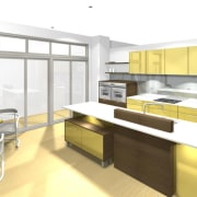 See before you buy Pridex Kitchens provides 3D countertop, interior design, kitchen, product design, white
