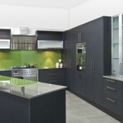 See before you buy Pridex Kitchens provides 3D cabinetry, countertop, interior design, kitchen, black, white
