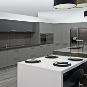 See before you buy Pridex Kitchens provides 3D cabinetry, countertop, cuisine classique, home appliance, interior design, kitchen, kitchen stove, product design, gray