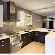 Dom Tech Australia imports the Candy 3 in cabinetry, countertop, cuisine classique, interior design, kitchen, room, gray