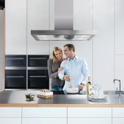 The company that pioneered home appliance technology in countertop, furniture, home appliance, interior design, kitchen, kitchen appliance, product design, professional, tap, white