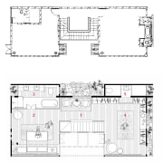 The architectural view of this home - The architecture, area, design, diagram, drawing, elevation, floor plan, font, line, plan, product, product design, structure, technical drawing, text, white