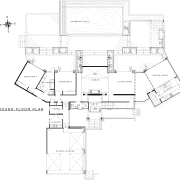 View of guest bathroom designed by Blue Print angle, area, black and white, design, diagram, drawing, floor plan, line, plan, product, product design, structure, technical drawing, white