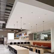 Fairview Green Shopping Centre, Fairview Park, WA - architecture, ceiling, daylighting, interior design, lobby, table, gray