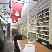 JCY Architects + Urban Designers office, Perth - architecture, furniture, institution, interior design, library, library science, public library, gray