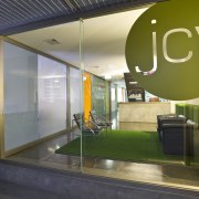 JCY Architects + Urban Designers office, Perth - architecture, glass, interior design, window, brown