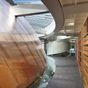 Supreme Court of New Zealand, Wellington - Supreme architecture, ceiling, daylighting, floor, interior design, line, structure, wood, brown