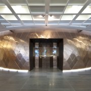 Supreme Court of New Zealand, Wellington - Supreme architecture, ceiling, interior design, lobby, tourist attraction, gray