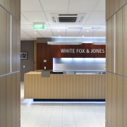 White Fox & Jones law firm Christchurch - ceiling, floor, flooring, interior design, lobby, product design, gray